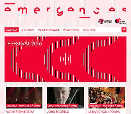 Festival Emergences 2016