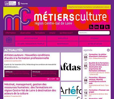Métiers Culture